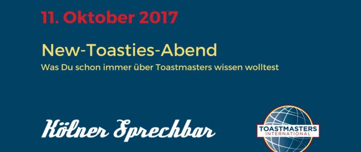 Der New-Toasties-Abend-Nachbericht